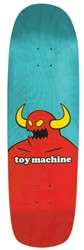 Toy Machine Monster 9.0 Skateboard Deck - teal stain