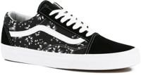 Vans Old Skool Skate Shoes - (indigo) black denim/true white