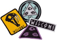 Welcome Pack Of 4 Patches - 4 patches
