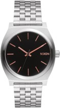 Nixon Time Teller Watch - gray/rose gold