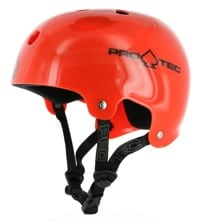 ProTec Classic Bucky Skate Helmet - translucent red