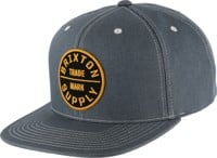 Brixton Oath III Snap Back Hat - light blue