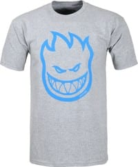 Spitfire Bighead T-Shirt - athletic heather/royal print