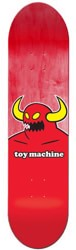 Toy Machine Monster 8.5 Skateboard Deck - red