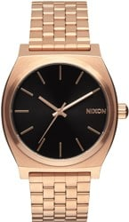 Nixon Time Teller Watch - nixon + primitive brushed rose gold/black