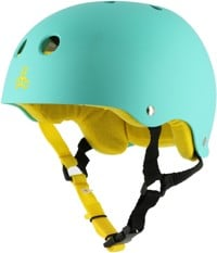 Triple Eight Brainsaver Multi-Impact Sweatsaver Skate Helmet - baja teal rubber