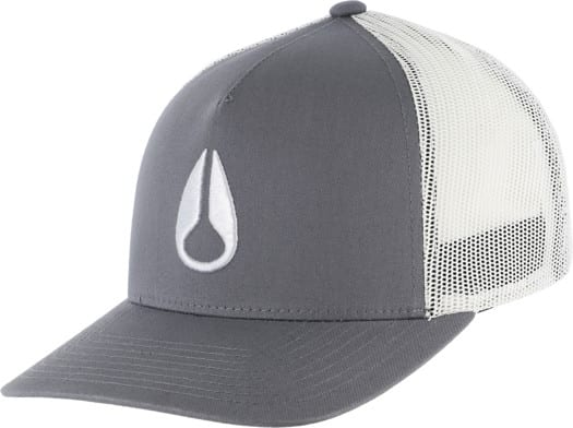 Nixon Iconed Trucker Hat - dark gray - view large