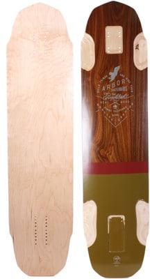 "Arbor Backlash 37"" Longboard Deck - view large"