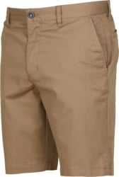 RVCA The Week-End Stretch Shorts - dark khaki