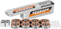 Bronson Speed Co. G3 Skateboard Bearings - orange
