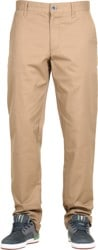 RVCA Week-End Stretch Pants - dark khaki
