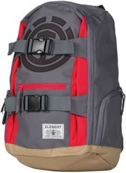 Element Mohave Backpack - stone grey/fire red
