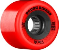 Bones ATF Rough Riders Skateboard Wheels - red (80a)