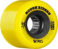 Bones ATF Rough Riders Skateboard Wheels - yellow (80a)