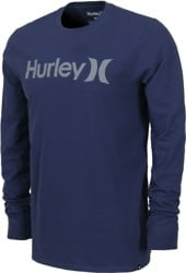 Hurley One & Only L/S T-Shirt - midnight navy