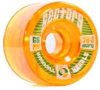 Sector 9 65mm Top Shelf Longboard Wheels - orange (78a)