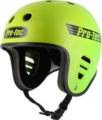ProTec Full Cut Skate Helmet - yellow green fade