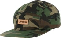 Tactics Bar Logo Cotton 5-Panel Hat - camo