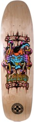 Black Label Emergency Lucero X2 8.88 Skateboard Deck - natural