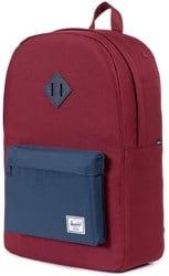 Herschel Supply Heritage Backpack - windsor wine/navy