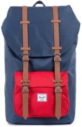 Herschel Supply Little America Backpack - navy/red/tan