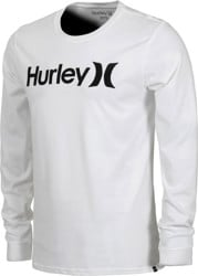 Hurley One & Only L/S T-Shirt - white