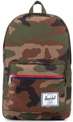 Herschel Supply Pop Quiz Backpack - woodland camo/multi zip