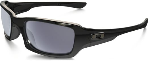 Oakley Fives Squared Sunglasses - polished black/grey lens - view large