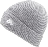 Nike SB Fisherman Beanie - dark grey heather/white