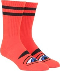 Toy Machine Sect Eye III Crew Sock - red