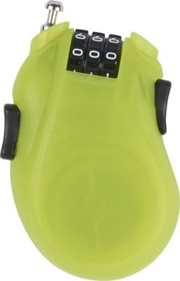 Burton Cable Snowboard Lock - lime - view large