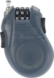 Burton Cable Snowboard Lock - translucent black