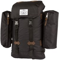 Poler Retro Rucksack Backpack - black