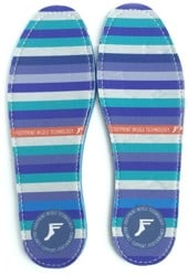 Footprint Kingfoam Flat Insoles - stripes