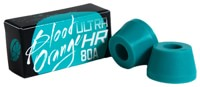 Blood Orange Ultra-HR Cone Longboard Bushings (1 Truck) - aqua
