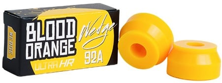 Blood Orange Ultra-HR Wedge Longboard Bushings (1 Truck) - view large