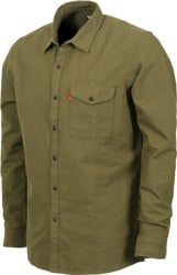Levi's Reform Flannel Shirt - ivy green