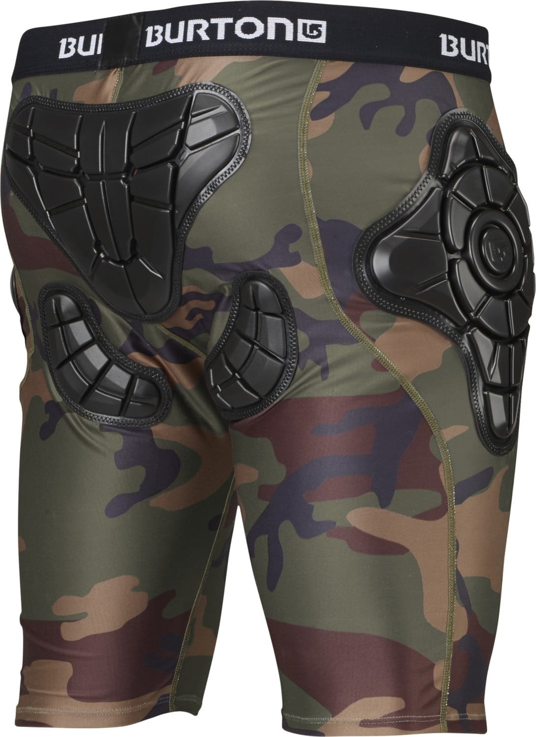 Burton G-Form Total Impact Shorts - highland camo - Free Shipping
