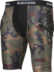 Burton G-Form Total Impact Shorts - highland camo