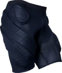 Crash Pads Padded Mesh Underwear - black
