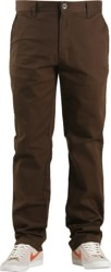 RVCA Week-End Stretch Pants - chocolate