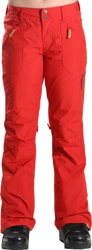 Roxy Nadia Insulated Pants 2016 - pompeian red