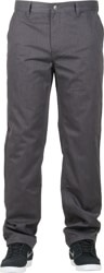 HUF Fulton Chino Pants - charcoal heather