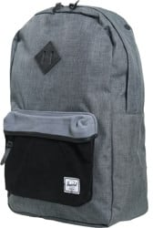 Herschel Supply Heritage Backpack - black/black crosshatch