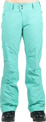Patagonia Women's Slim Powder Bowl Gore-Tex Insulated Pants 2016 - aqua stone