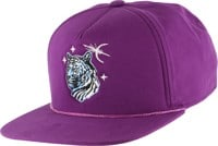 Coal The Lore Snapback Hat - purple