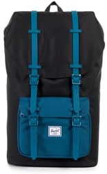 Herschel Supply Little America Backpack - black/ink blue/ink blue rubber