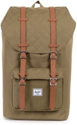 Herschel Supply Little America Backpack - quilted army