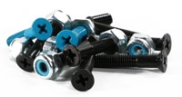 Modus Phillips Mounting Skateboard Hardware - black/blue