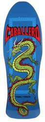 Powell Peralta Caballero Chinese Dragon 10.0 Skateboard Deck - royal blue